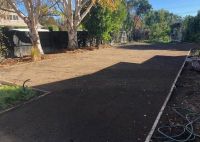 Lawn Prep, irrigation, re-do of timber edging and hydroseeding -Murphys Road